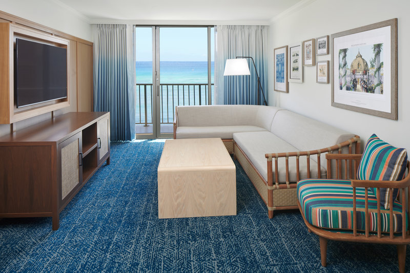 Outrigger Reef Waikiki Beach Resort - Outrigger Reef 1 Bedroom Ocean Front <br/>Image from Leonardo