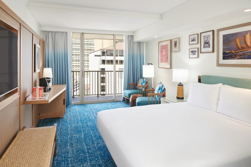 Outrigger Reef Waikiki Beach Resort - Outrigger Reef City View 1 King <br/>Image from Leonardo