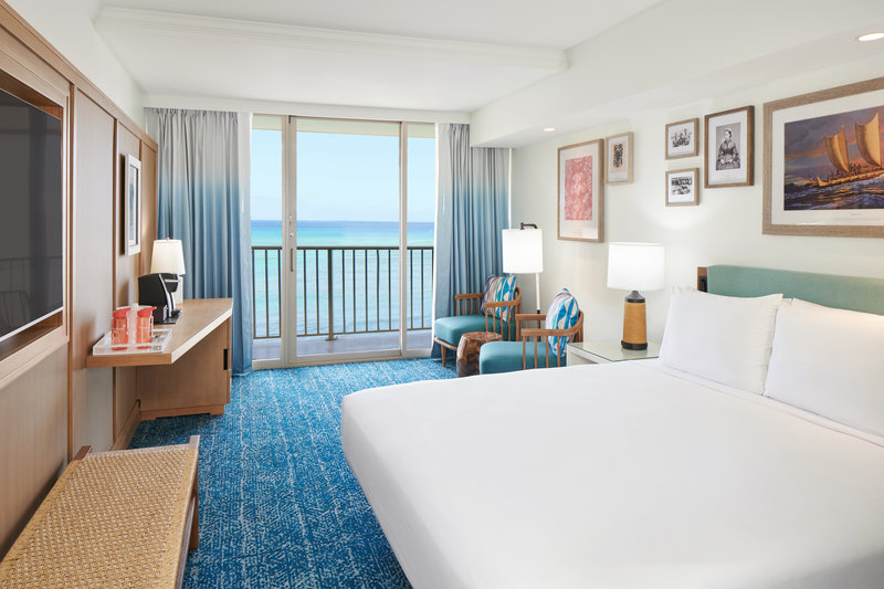 Outrigger Reef Waikiki Beach Resort - Outrigger Reef Ocean Tower Ocean View 1 King <br/>Image from Leonardo