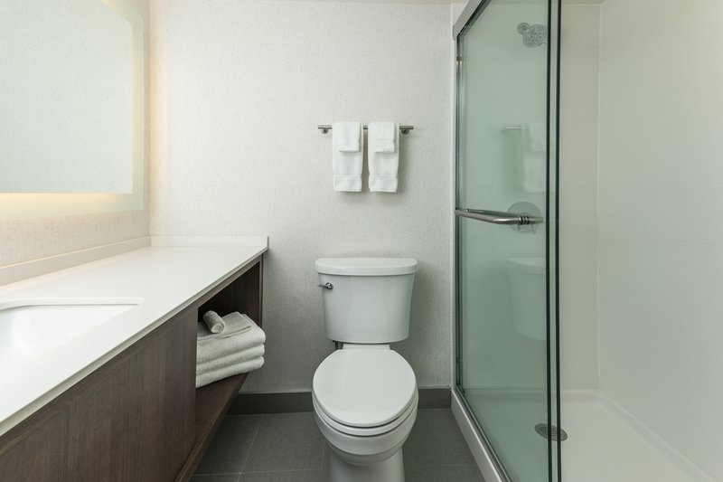 Holiday Inn Kingston - Waterfront-Newly design bathroom with walk-in shower<br/>Image from Leonardo