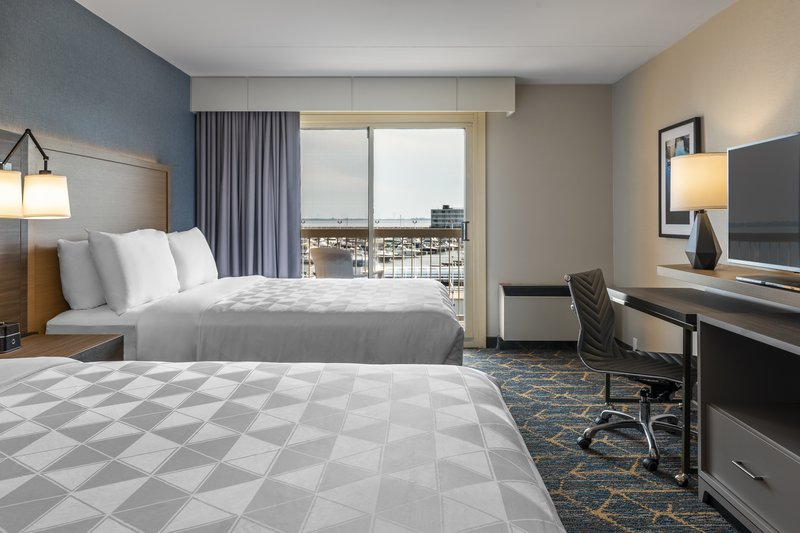 Holiday Inn Kingston - Waterfront-Great size 2 queen beds bedroom with balcony and view<br/>Image from Leonardo