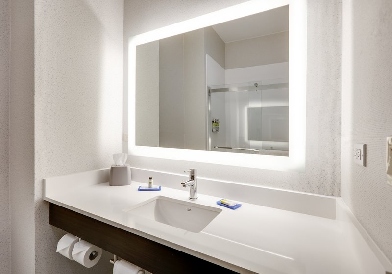 Holiday Inn Express & Suites Cleburne-Guest Bathroom <br/>Image from Leonardo