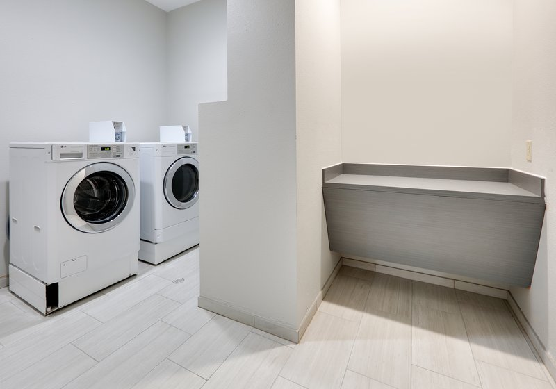 Holiday Inn Express & Suites Cleburne-Laundry Facility <br/>Image from Leonardo