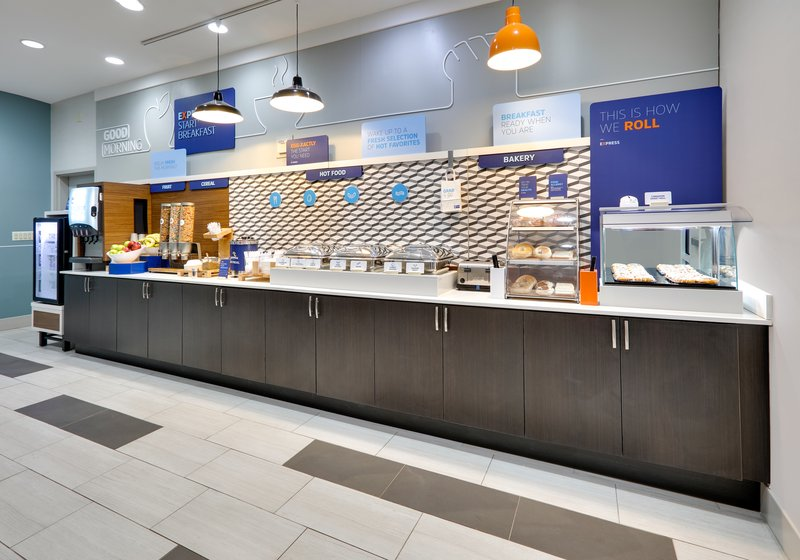 Holiday Inn Express & Suites Cleburne-Breakfast Bar <br/>Image from Leonardo