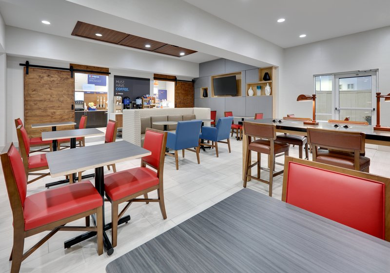 Holiday Inn Express & Suites Cleburne-Breakfast Area <br/>Image from Leonardo