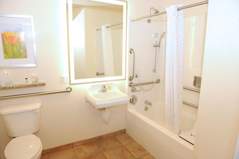 Candlewood Suites Santa Maria-Guest Bathroom<br/>Image from Leonardo