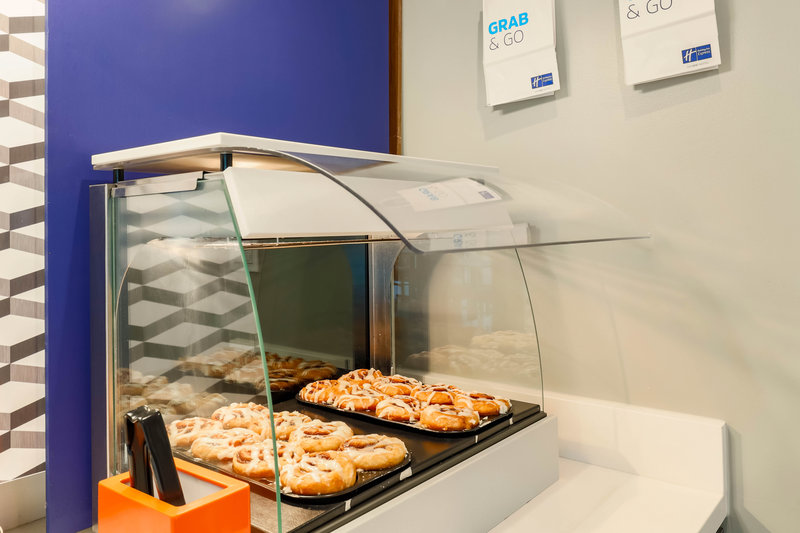Holiday Inn Express and Suites Fort Worth Downtown-Grab & Go Pastries <br/>Image from Leonardo