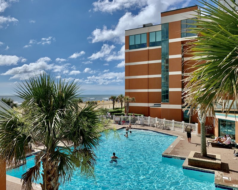 Holiday Inn Hotel & Suites Virginia Beach - North Beach-View from our Two Queen Bed Pool/Oceanview Rooms<br/>Image from Leonardo