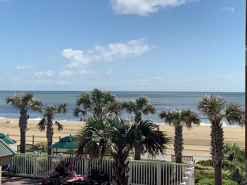 Holiday Inn Hotel & Suites Virginia Beach - North Beach-View from our Two Queen Bed Pool/Ocean View Room<br/>Image from Leonardo