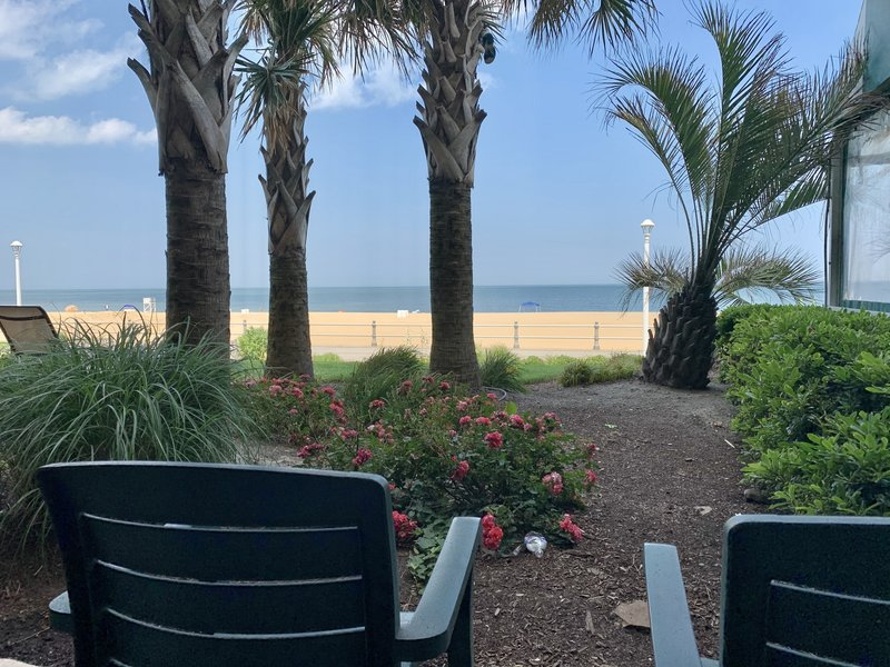 Holiday Inn Hotel & Suites Virginia Beach - North Beach-View from oceanfront 1st floor Rooms and  Suites<br/>Image from Leonardo