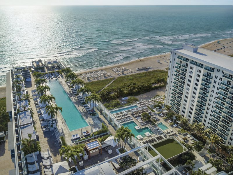1 Hotel South Beach-1 Hotel South Beach Aerial View<br/>Image from Leonardo