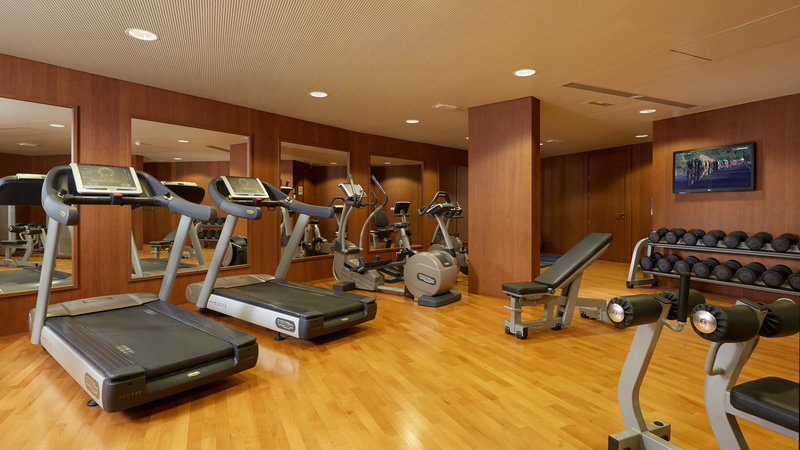 Crowne Plaza Paris - Charles de Gaulle-Fitness Center<br/>Image from Leonardo