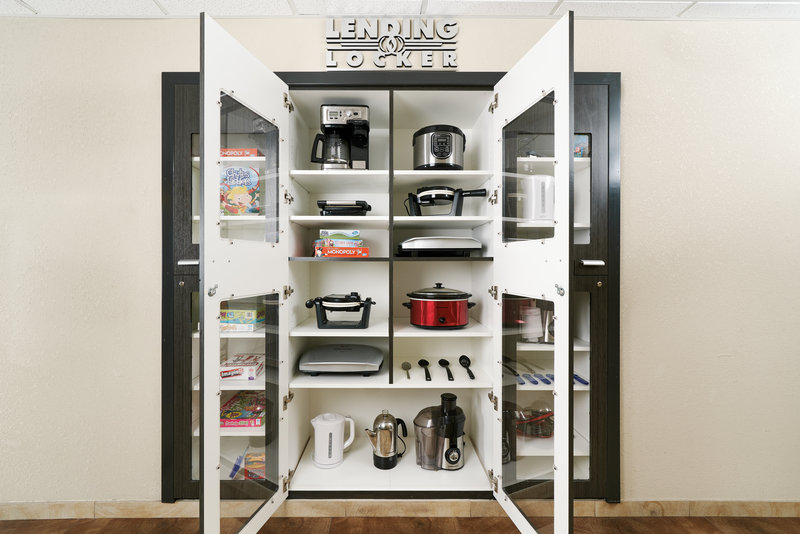 Candlewood Suites Santa Maria-Candlewood Suites Lending Locker<br/>Image from Leonardo