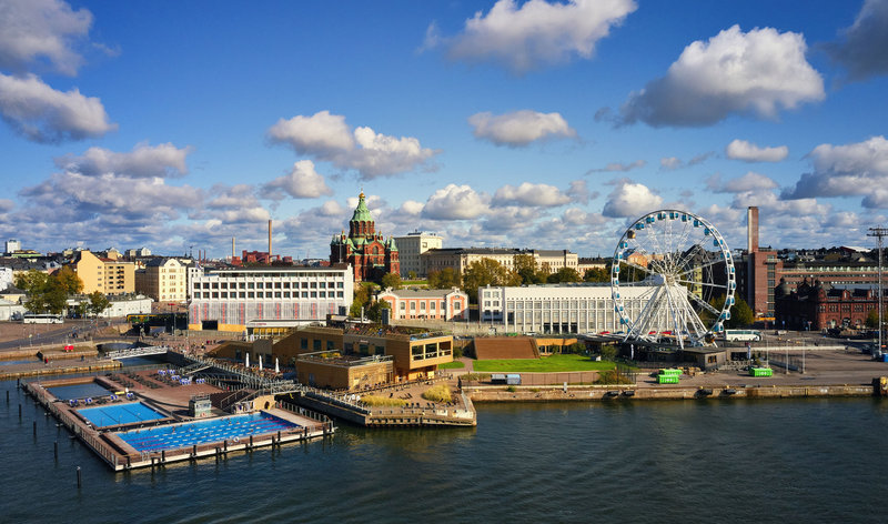 Holiday Inn Helsinki - Exhibition & Convention Centre-Helsinki Allas Sea Pool and Katajanokka area<br/>Image from Leonardo