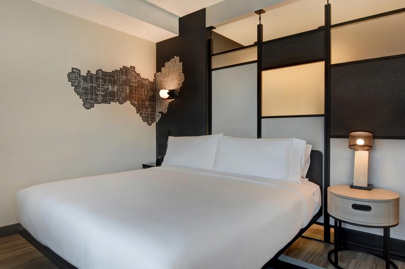 Aloft Secaucus Meadowlands-King Guest Room<br/>Image from Leonardo