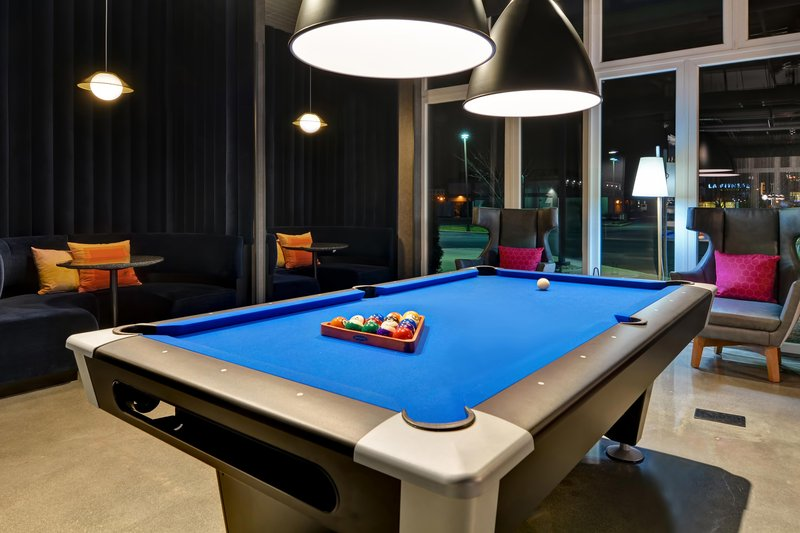 Aloft Secaucus Meadowlands-W XYZ Bar - Pool Table<br/>Image from Leonardo