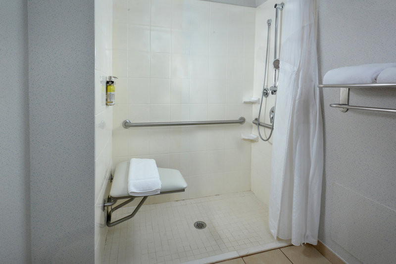 Holiday Inn Express Lynchburg-Our Roll In Showers are perfect for those with wheelchair needs.<br/>Image from Leonardo