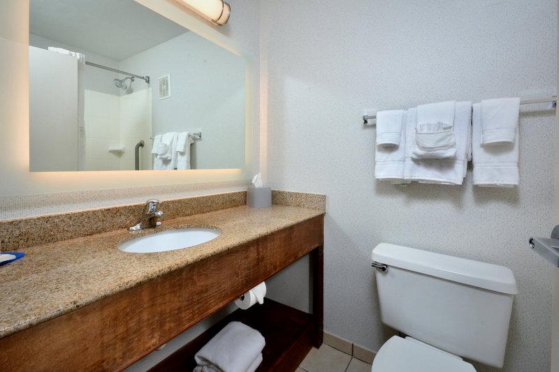 Holiday Inn Express Lynchburg-Guest Bathroom<br/>Image from Leonardo