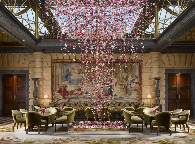 HOTEL METROPOLE MONTE CARLO-Lobby Hotel Metropole MCWPryce<br/>Image from Leonardo