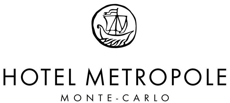 HOTEL METROPOLE MONTE CARLO-Logo Hotel Metropole MCAu Trait Noir<br/>Image from Leonardo