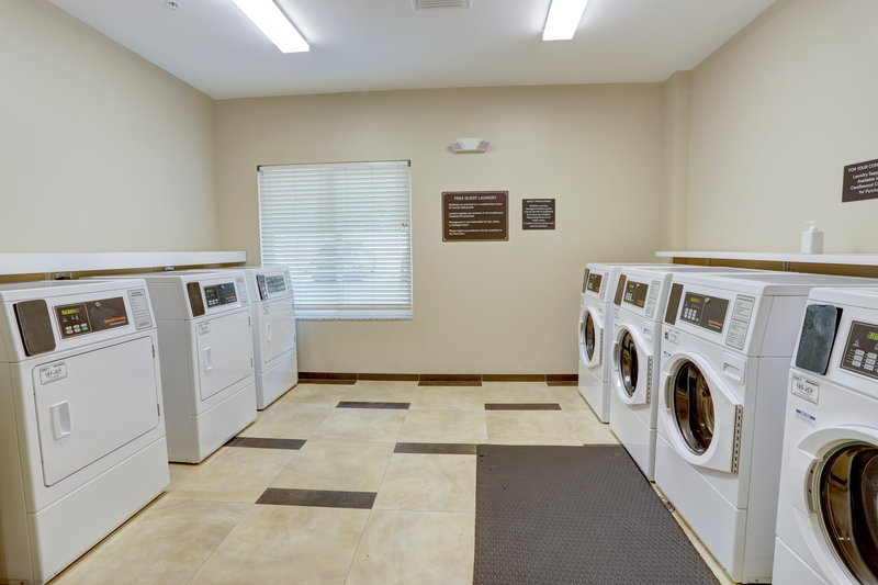 Candlewood Suites Safety Harbor-Laundry Facility<br/>Image from Leonardo