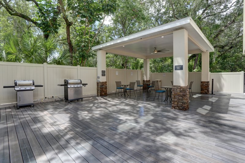 Candlewood Suites Safety Harbor-Gazebo and Grilling Area<br/>Image from Leonardo