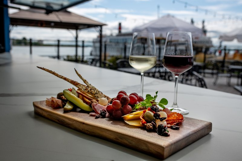 Holiday Inn Kingston - Waterfront-Brined n'Cured Board, with wine Wharf & Feather Waterfront patio<br/>Image from Leonardo