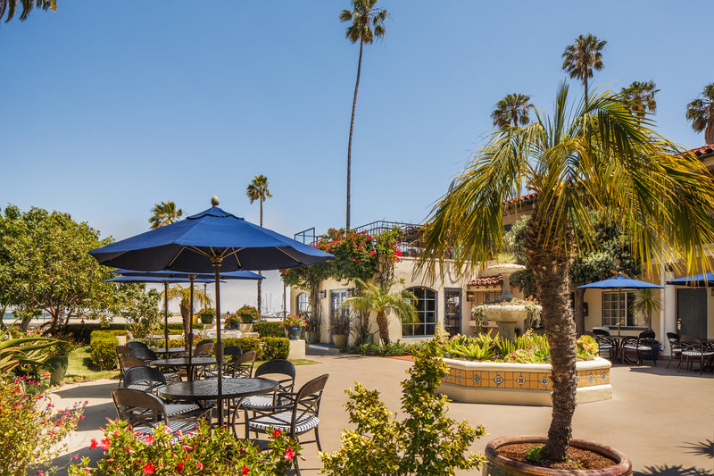 Hotel Milo Santa Barbara-Garden Seating Area<br/>Image from Leonardo