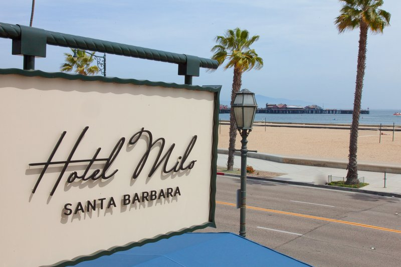 Hotel Milo Santa Barbara-Entrance Sign<br/>Image from Leonardo