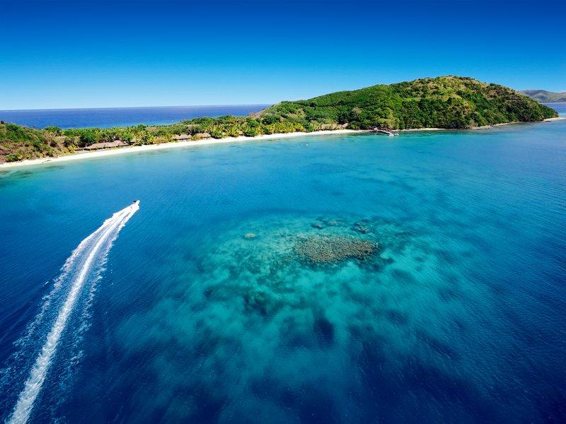 Kokomo Private Island Fiji-Resort Aerial HERO<br/>Image from Leonardo