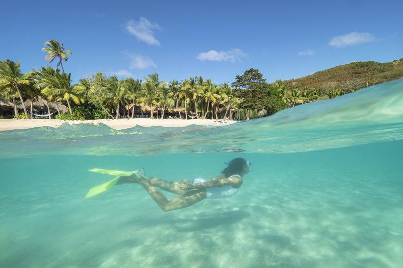Kokomo Private Island Fiji-Snorkelling Lan Ape<br/>Image from Leonardo