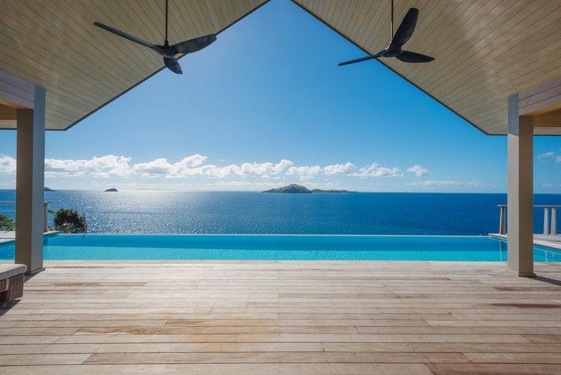 Kokomo Private Island Fiji-Four Bedroom Luxury Residence Dravuni Pool<br/>Image from Leonardo