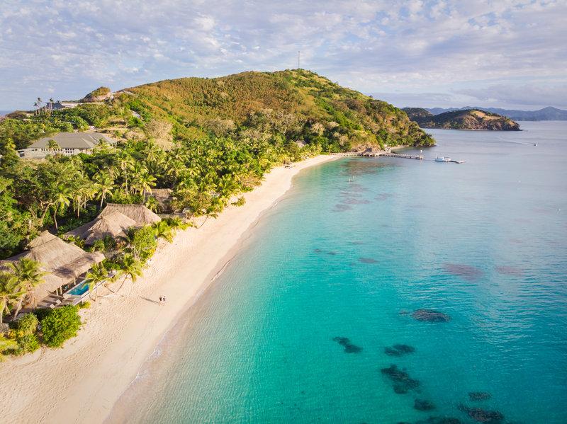 Kokomo Private Island Fiji-Resort Aerial<br/>Image from Leonardo