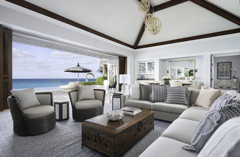 Ocean Club, A Four Seasons Resort, Bahamas-Villa Residence Living Room<br/>Image from Leonardo