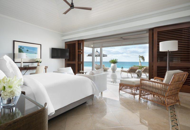 Ocean Club, A Four Seasons Resort, Bahamas-Villa Residence Master Bedroom<br/>Image from Leonardo