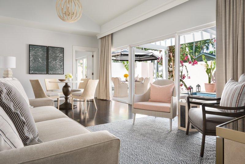 Ocean Club, A Four Seasons Resort, Bahamas-Two-Bedroom Plunge Pool Villa Living Room<br/>Image from Leonardo