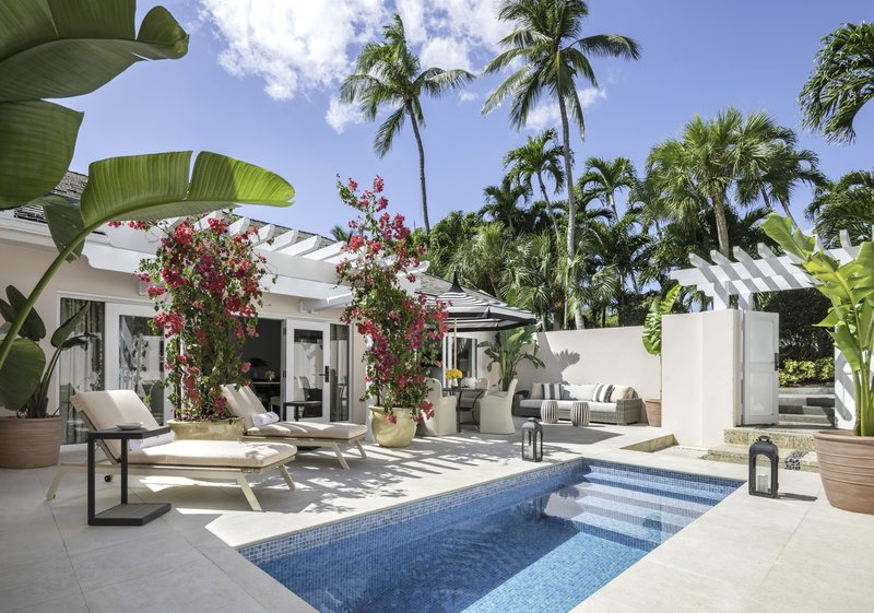 Ocean Club, A Four Seasons Resort, Bahamas-Two-Bedroom Plunge Pool Villa Terrace<br/>Image from Leonardo