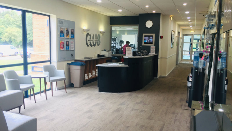 Holiday Inn Peterborough West-Leisure Club Reception<br/>Image from Leonardo
