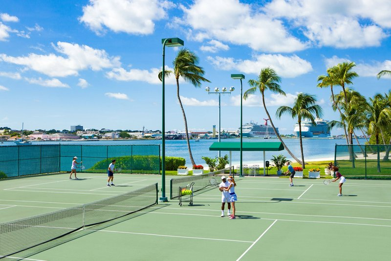 The Royal at Atlantis-Tennis Courts<br/>Image from Leonardo