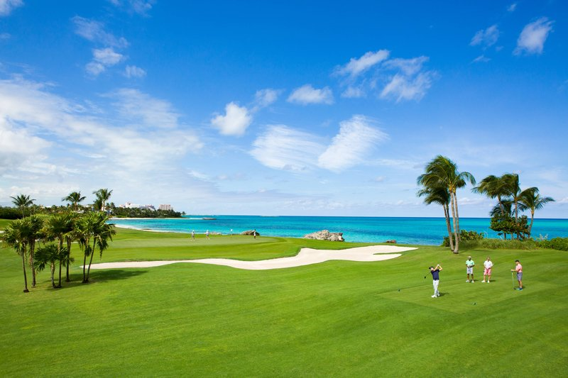 The Royal at Atlantis-Ocean Club Golf Course<br/>Image from Leonardo