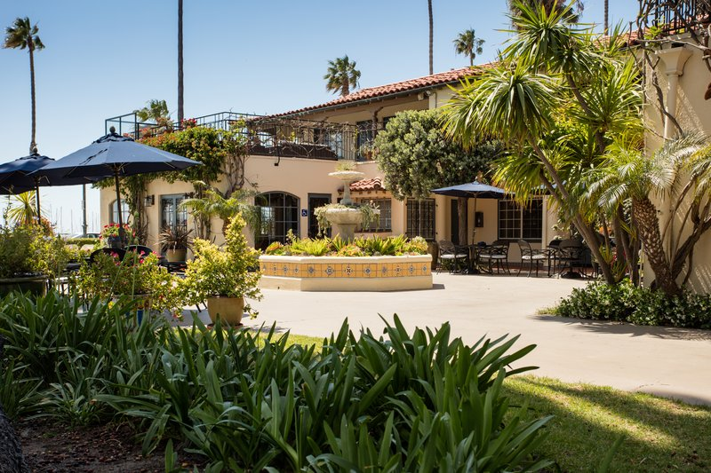 Hotel Milo Santa Barbara-Fountain Courtyard<br/>Image from Leonardo