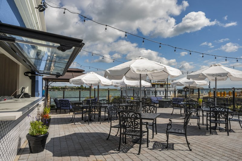 Holiday Inn Kingston - Waterfront-Best view in town Wharf & Feather Patio <br/>Image from Leonardo