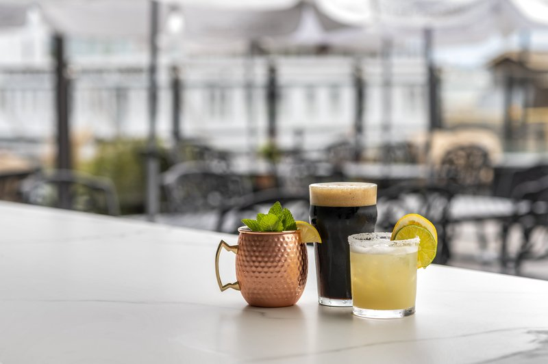 Holiday Inn Kingston - Waterfront-Specialty drinks at Wharf & Feather Waterfront Patio Bar<br/>Image from Leonardo