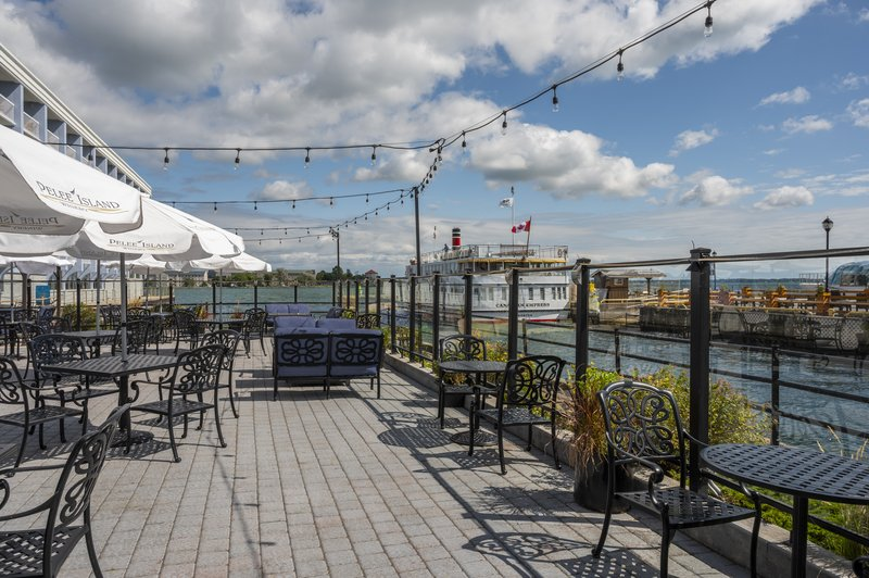Holiday Inn Kingston - Waterfront-Best gathering place at the Wharf & Feather Waterfront patio<br/>Image from Leonardo