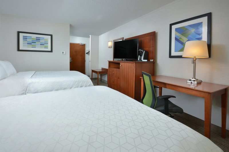 Holiday Inn Express Lynchburg-Families visiting Lynchburg, VA enjoy our double queen rooms.<br/>Image from Leonardo
