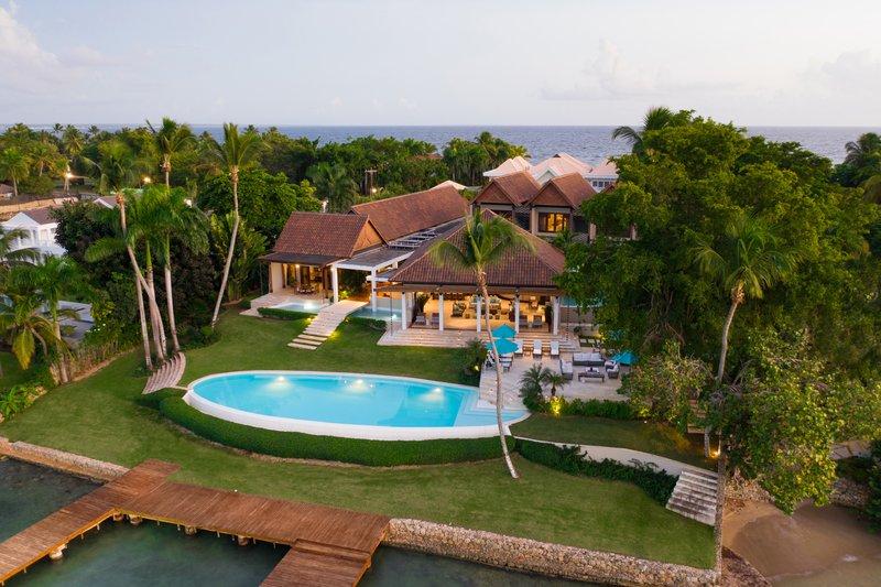 Casa De Campo - Villa Laguna del Mar - Aerial Pool view 2.jpg <br/>Image from Leonardo