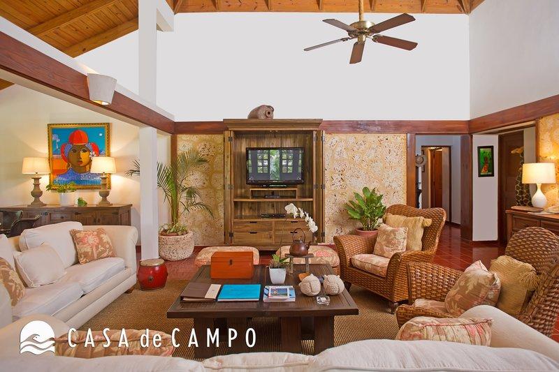 Casa De Campo - Villa Jardines 3bdr GDV - Living Area 3.JPG <br/>Image from Leonardo