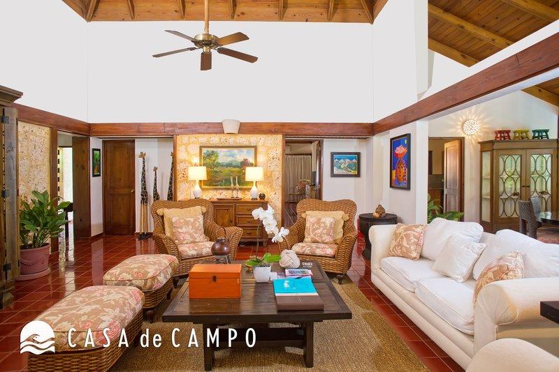 Casa De Campo - Villa Jardines 3bdr GDV - Living Area 2.JPG <br/>Image from Leonardo