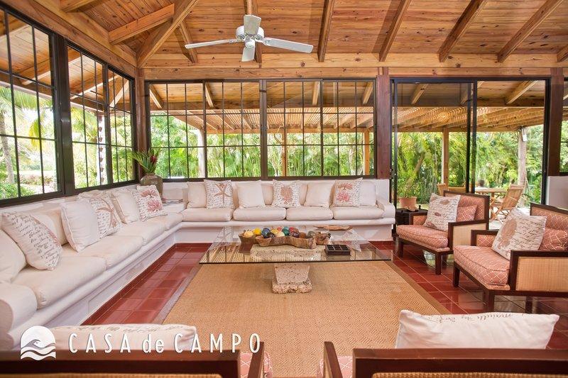 Casa De Campo - Villa Jardines 3bdr GDV - Living Area 5.JPG <br/>Image from Leonardo