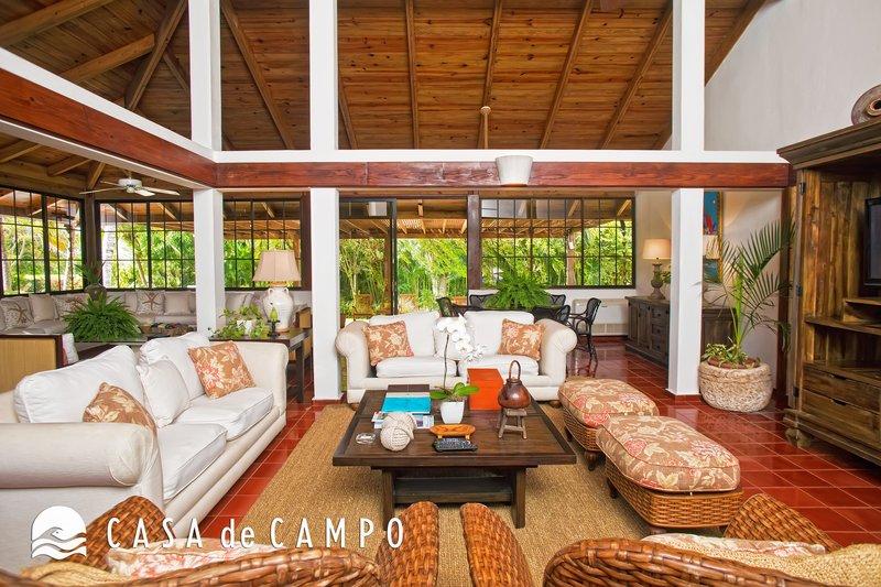 Casa De Campo - Villa Jardines 3bdr GDV - Living Area.JPG <br/>Image from Leonardo